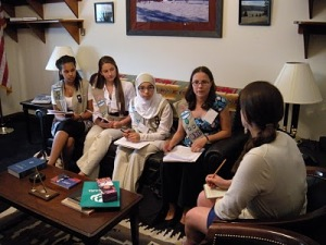 Girl Scouts on Capitol Hill