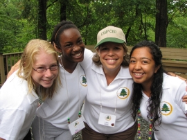 Lidia at Camp CEO