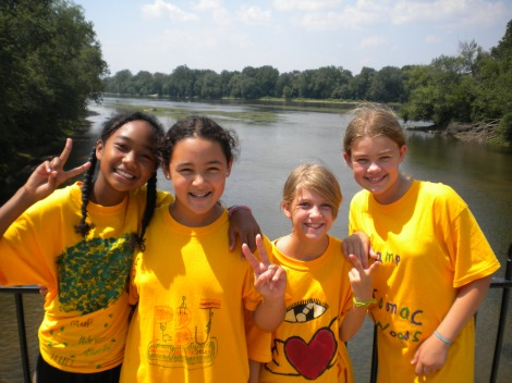 Girl Scouts at Camp
