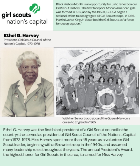 Girl Scouts Nation's Capital Honors Black History Month