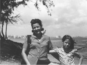Lidia and her mother