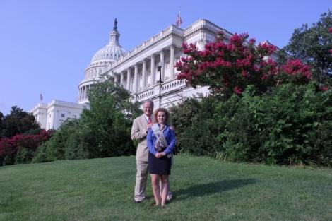 Lauren & Congressman Farr.resized2