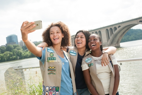 Girl Scouts of the USA DC photo shoot on Tuesday, July 21, 2015, in Washington, DC. (Photos by Leslie E. Kossoff/LK Photos)